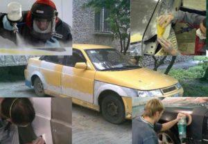 Как покрасить автомобиль дэу матиз своими руками