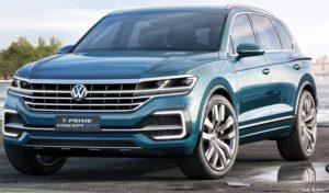 Электрический Volkswagen T-Prime Concept