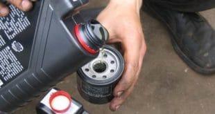 Самостоятельное выполнение замены масла вместе с масляным фильтром на моторе транспортного средства марки Daewoo Matiz