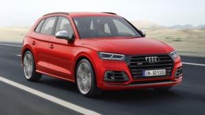 Audi SQ5 спортивный внедорожник. Ремонт кузова Ауди