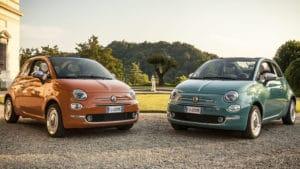 Fiat 500 Anniversario. Ремонт Фиат